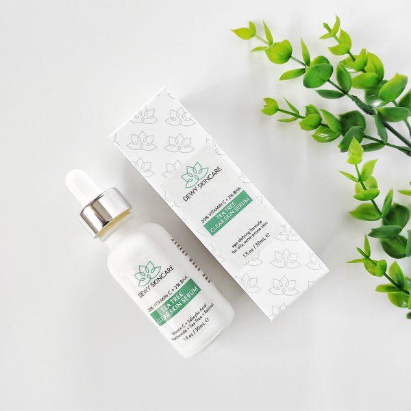 Dewy Skincare Vitamin C + BHA Clear Skin Serum 30ml