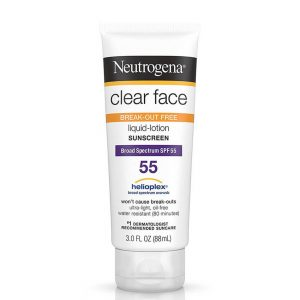Neutrogena Clear Face Sunscreen For Acne-Prone Skin
