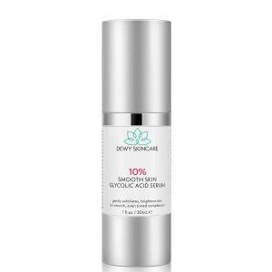 Dewy Skincare 10% Glycolic Acid Smooth Skin Serum 30ml