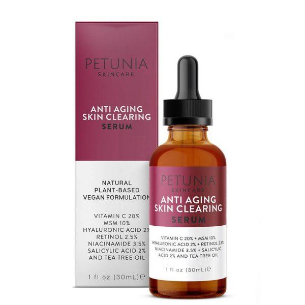 Petunia Anti-Aging Skin Clearing Serum 30ml