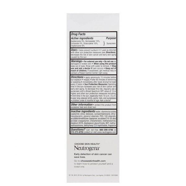 Neutrogena Age Shield Sunscreen SPF110