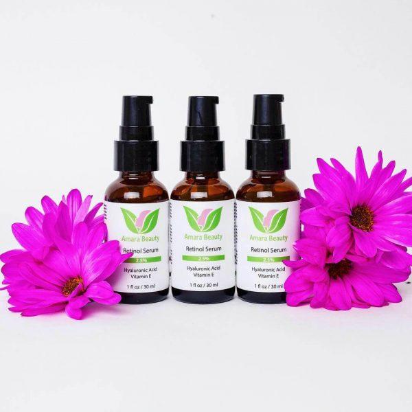 Amara Beauty Retinol Anti-Aging Serum with Vitamin E