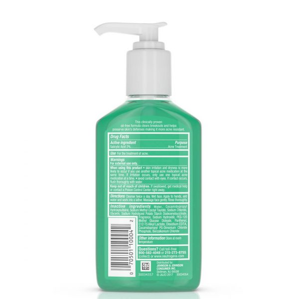 Neutrogena Acne Proofing Cleanser with Salicylic Acid