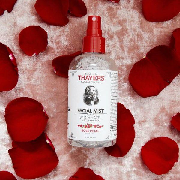 Rose Petal Facial Mist with Witch Hazel 237ml