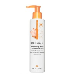 Derma E Acne Deep Pore Cleansing Wash with Salicylic Acid