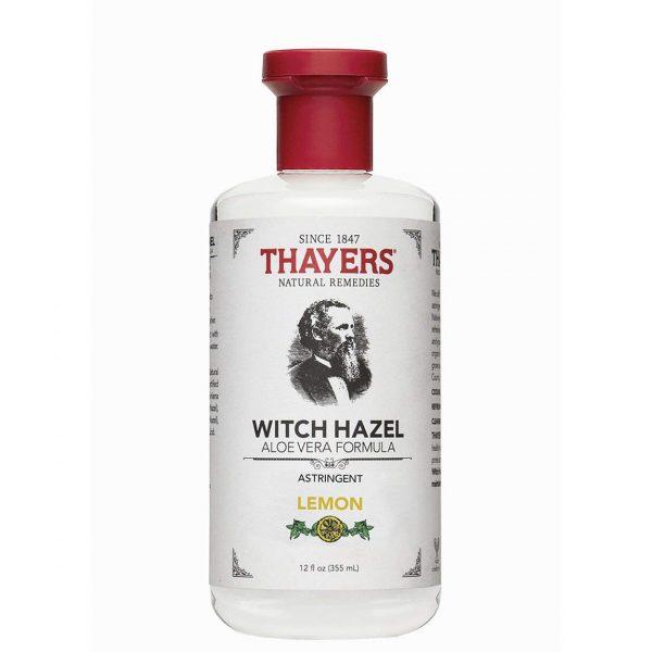 Thayers Lemon Witch Hazel Astringent with Aloe Vera 355ml