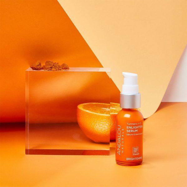 Andalou Naturals Turmeric + Vitamin C Enlighten Serum