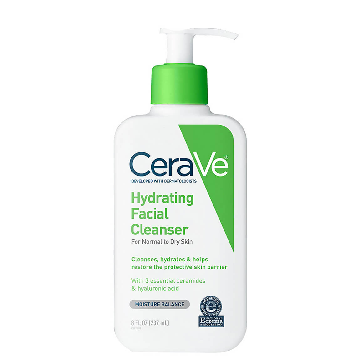 Cerave Hydrating Face Wash for Normal to Dry Skin