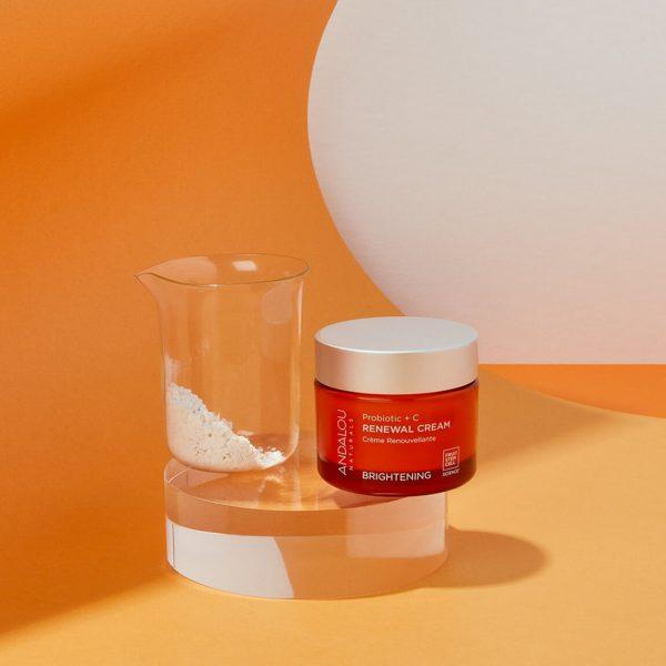 Andalou Naturals Probiotic + Vitamin C Brightening Cream