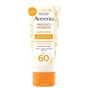 Aveeno Protect + Hydrate Body Sunscreen SPF60 88ml