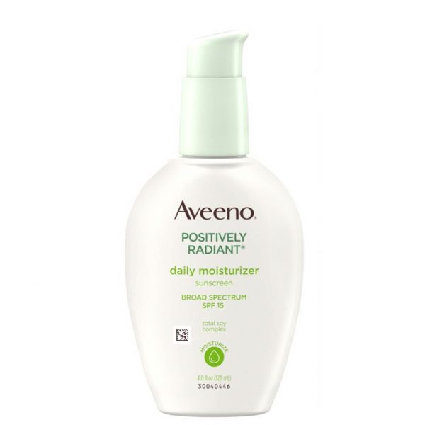 Aveeno Positively Radiant Daily Moisturizer with SPF15