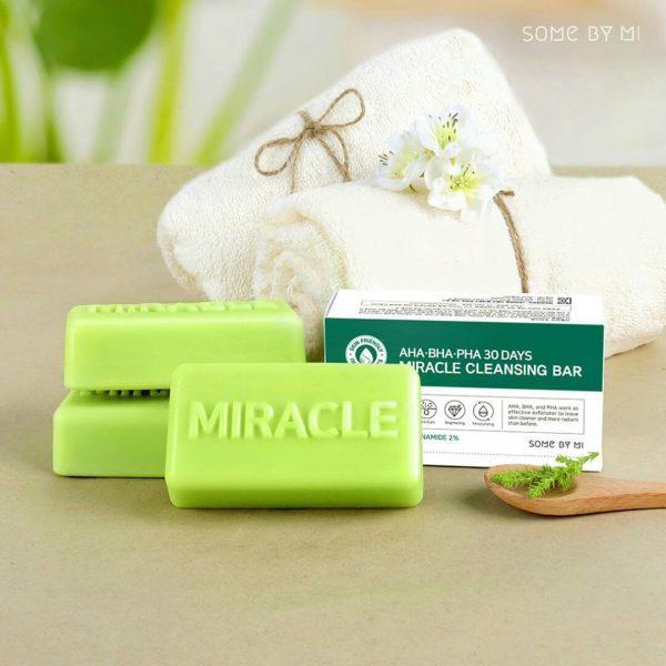 Some By Mi AHA BHA PHA 30 Days Miracle Cleansing Bar 100g