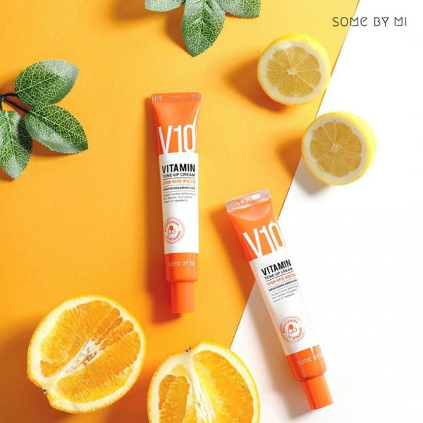 Some By Mi V10 Vitamin C Brightening Tone-Up Cream