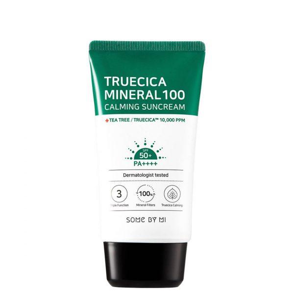 Some By Mi Truecica Mineral 100 Calming Suncream SPF50