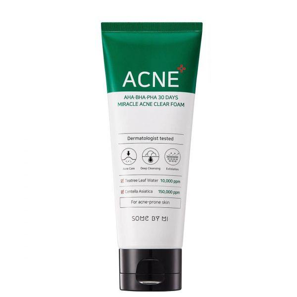 Some By Mi AHA BHA PHA 30 Days Miracle Acne Cleanser 200ml