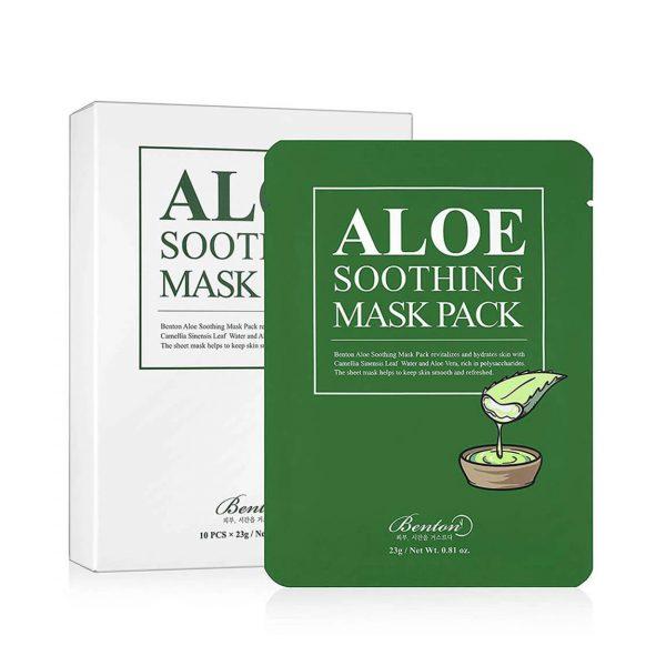 Benton Aloe Soothing Sheet Masks Pack 5pc