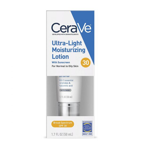 Cerave Ultra-Light Moisturizing Facial Lotion with SPF30