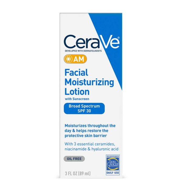 Cerave Facial Moisturizing Lotion AM with Sunscreen
