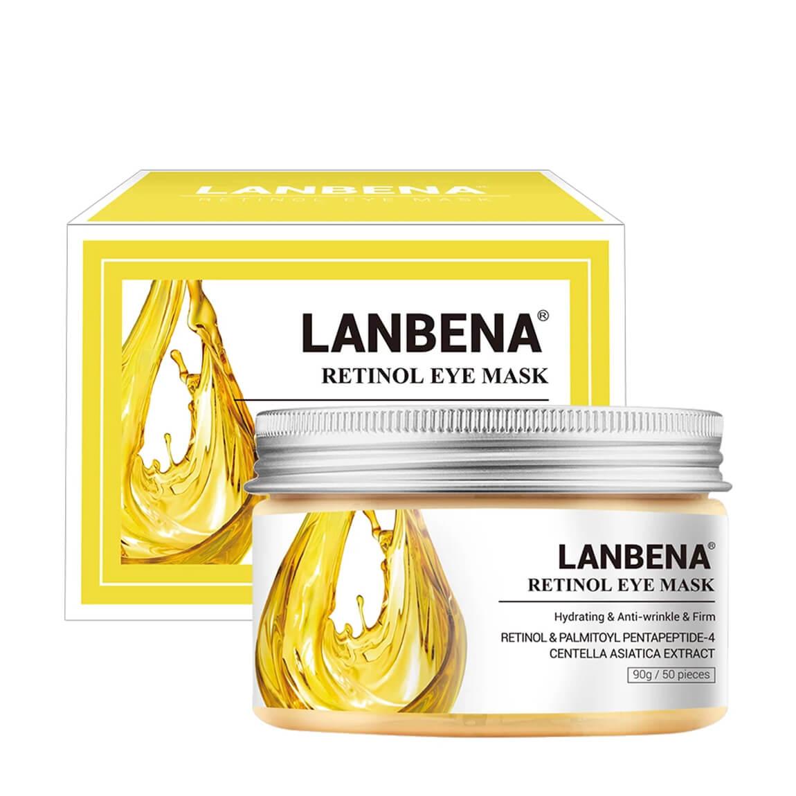 Lanbena Retinol Anti-Wrinkle Eye Mask 50pcs