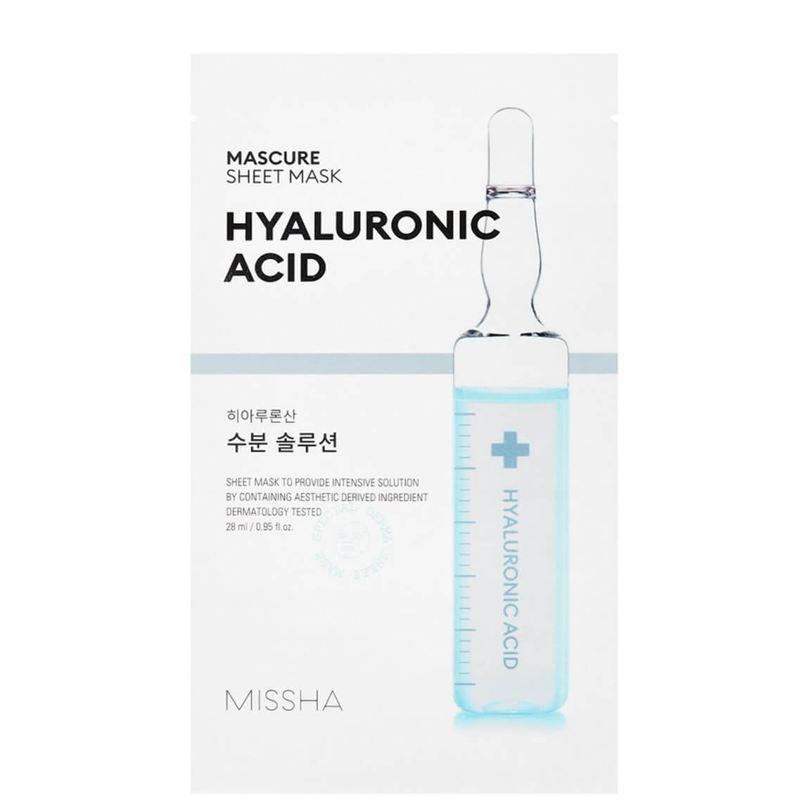 Missha Mascure Hyaluronic Acid Sheet Mask 3pc