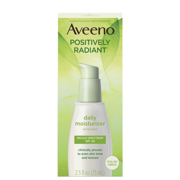 Aveeno Positively Radiant Daily Moisturizer with SPF35 75ml