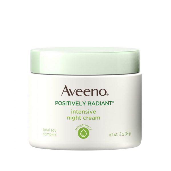 Aveeno Positively Radiant Moisturizing Night Cream 48ml
