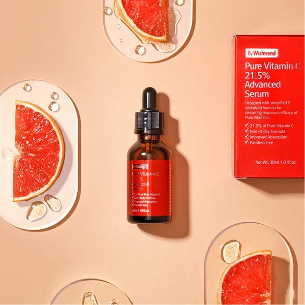 By Wishtrend Pure Vitamin C21.5% Advanced Serum 30ml