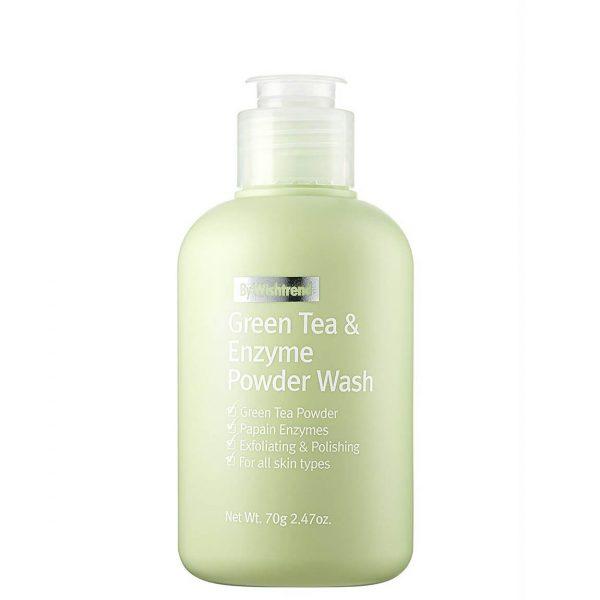 By Wishtrend Green Tea & Enzyme Powder Wash 70g