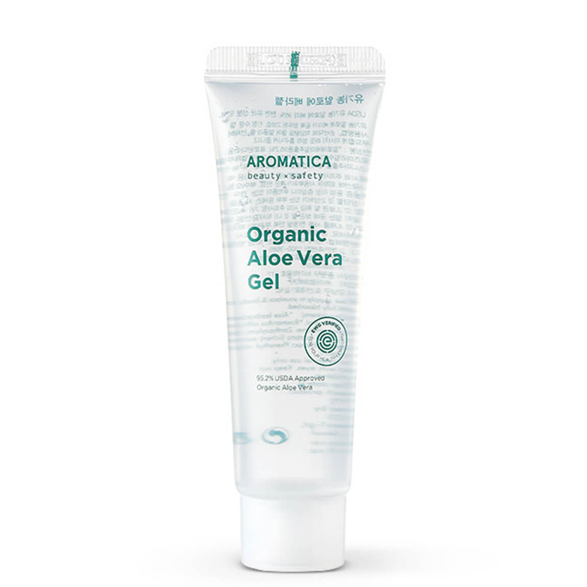 Aromatica 95% Organic Aloe Vera Gel Mini 50ml