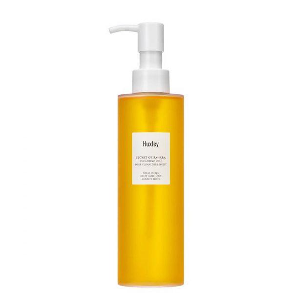 Huxley Deep Clean, Deep Moist Cleansing Oil 200ml