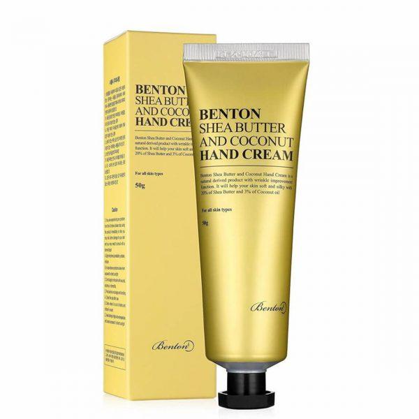 Benton Shea Butter & Coconut Hand Cream 50ml
