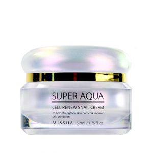 Missha Super Aqua Cell Renew Snail Cream 52ml