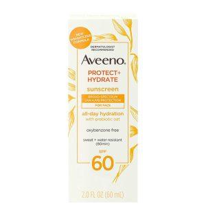 Aveeno Protect + Hydrate Face Sunscreen SPF60 60ml