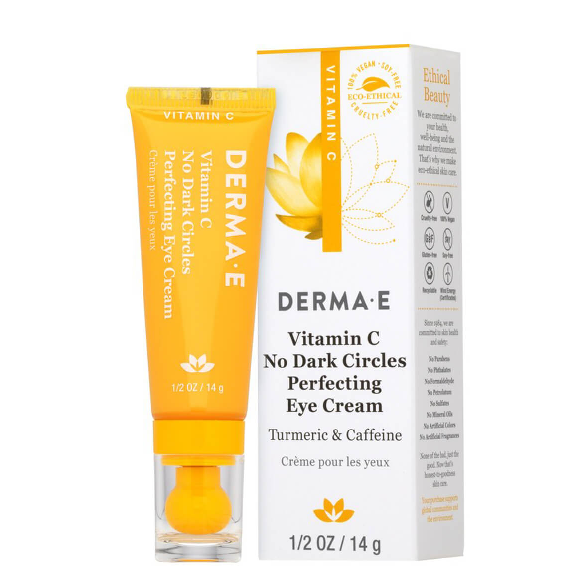 Derma E Vitamin C No Dark Circles Eye Cream 14ml