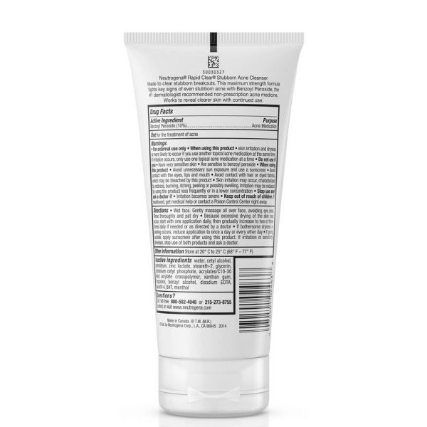 Neutrogena Rapid Clear Stubborn Acne Cleanser