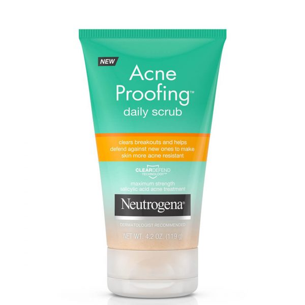 Neutrogena Acne Proofing Daily Scrub with Salicylic Acid
