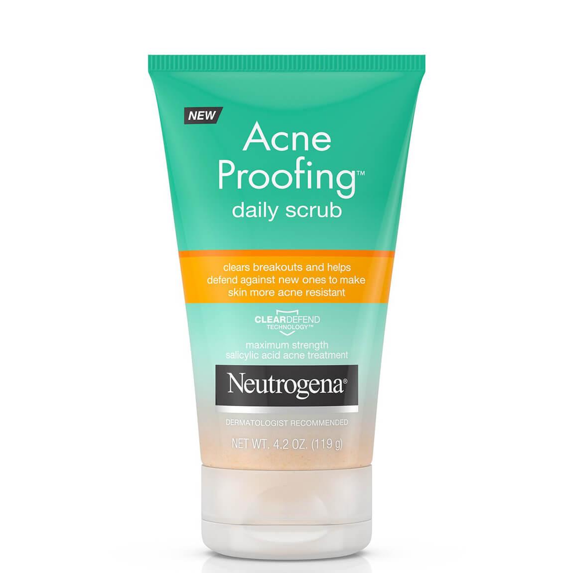 Neutrogena Acne Proofing Daily Scrub with Salicylic Acid