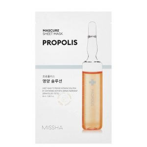 Missha Mascure Propolis Sheet Mask 3pc