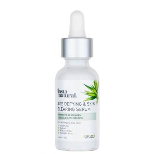 InstaNatural Age Defying and Skin Clearing Serum 30ml