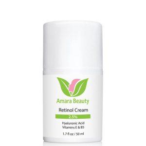 Amara Beauty Retinol Face Cream with Hyaluronic Acid