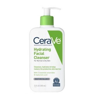 Cerave Hydrating Face Wash for Normal to Dry Skin 12oz