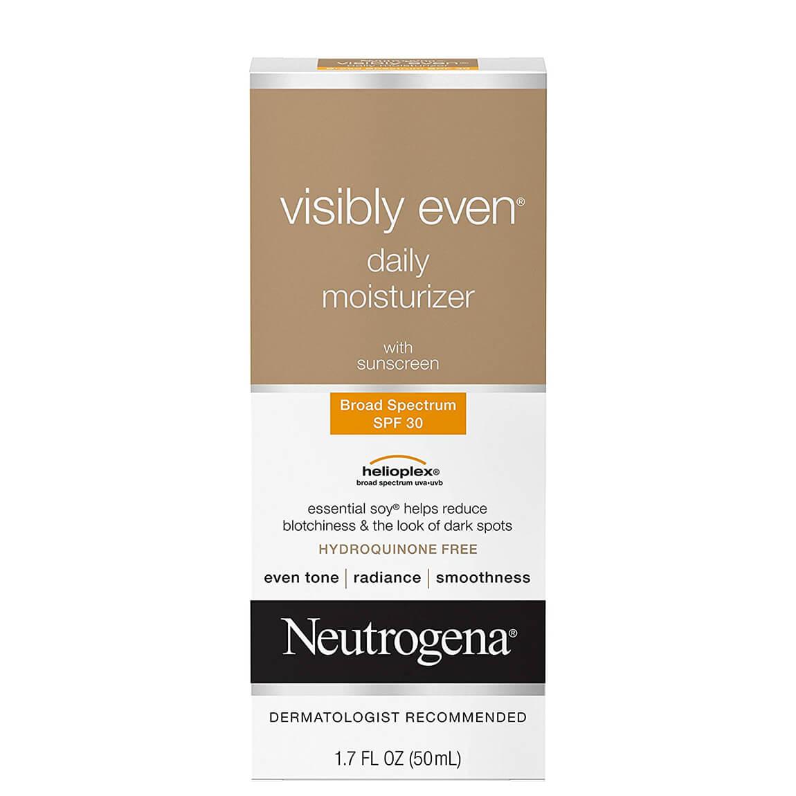 Neutrogena Visibly Even Daily Moisturizer with Sunscreen SPF30 50ml