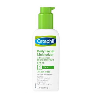 Cetaphil Daily Facial Moisturizer with Sunscreen SPF15 118ml