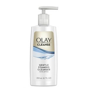 Olay Gentle Foaming Face Cleanser Fragrance-Free 200ml