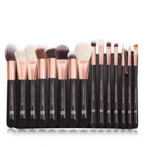 Unique Colors 15pc Professional Makeup Brush Set