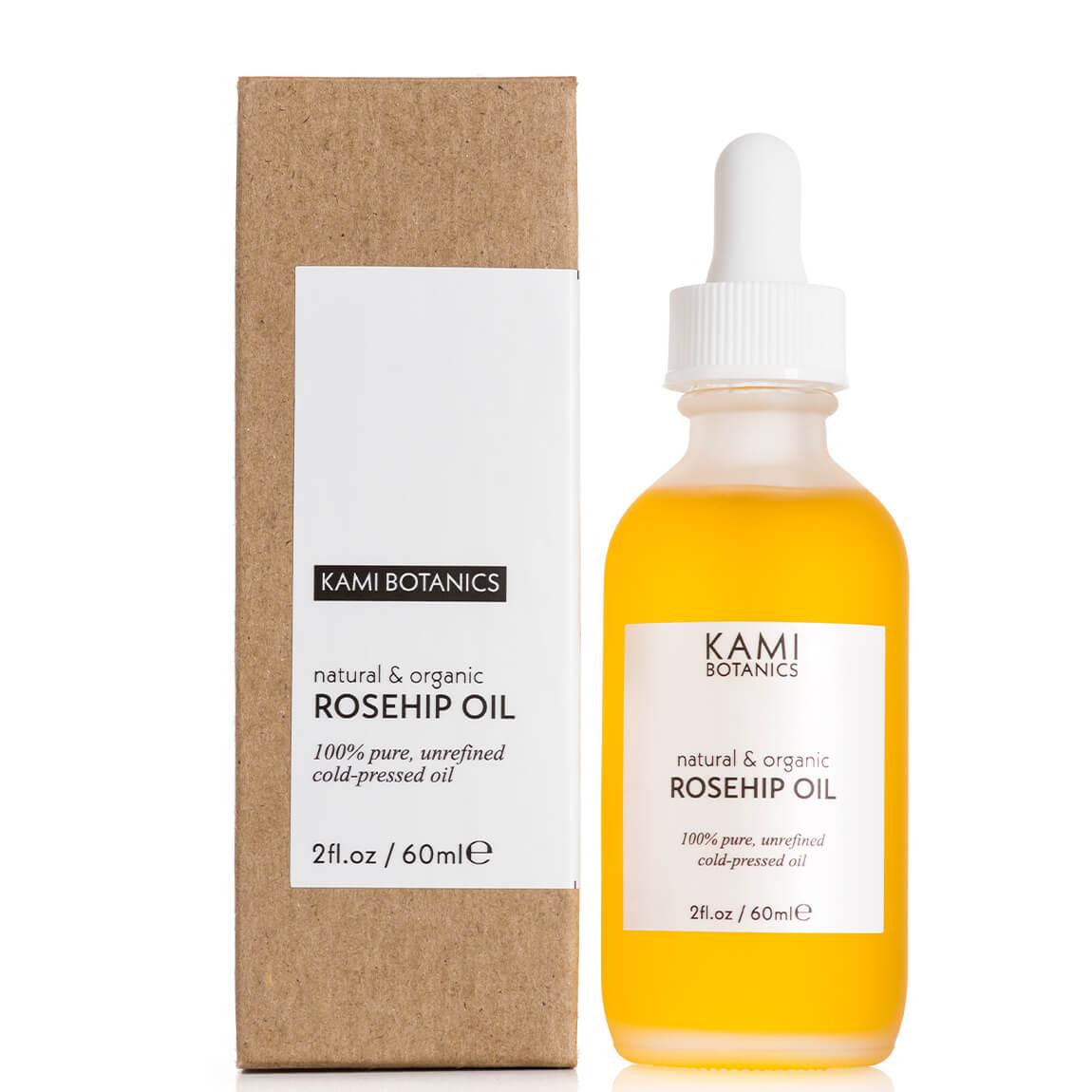 Kami Botanics 100% Pure, Cold-Pressed Rosehip Oil 60ml
