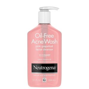Neutrogena Oil-Free Acne Wash Pink Grapefruit Facial Cleanser 269ml