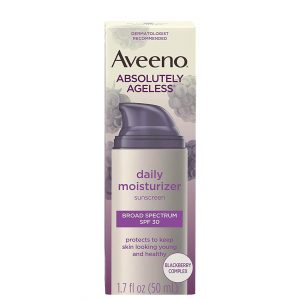 Aveeno Absolutely Ageless Daily Moisturizer SPF30 50ml