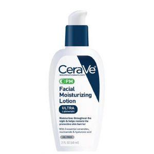 Cerave Ultra Lightweight PM Facial Moisturizing Lotion 60ml