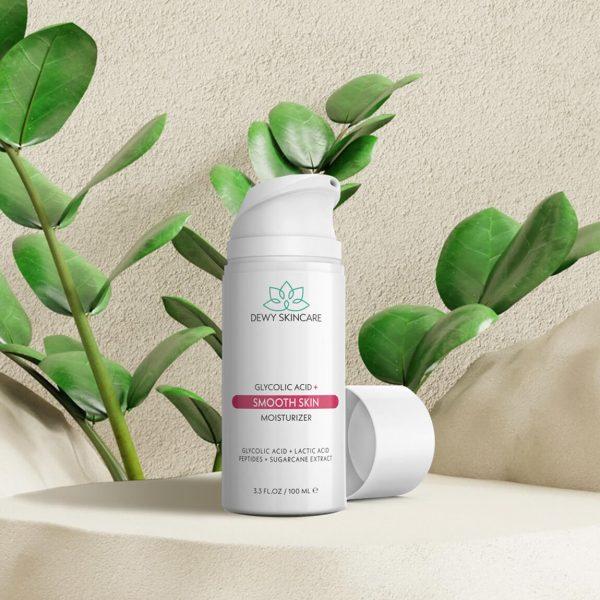 Dewy Skincare Glycolic Acid Smooth Skin Moisturizer 100ml